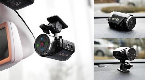 FineVu Dashcam Design and In Use Look
