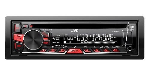 JVC KDR660 Car Stereo Frontside