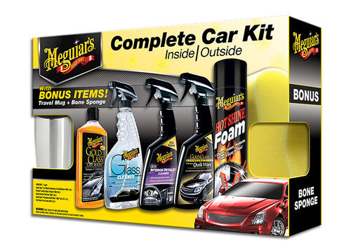 Meguiars Complete Car Care Package