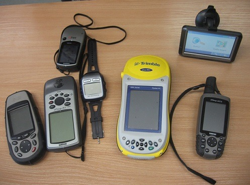 Multiple Different Kinds of GPS Systems