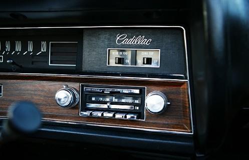 Vintage Cadillac Car Radio