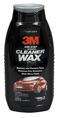 3M One Step Cleaner Wax 39006