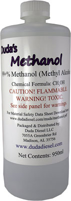 950ml-32-oz Bottle of Pure Methanol Racing Biodiesel
