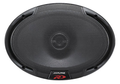 "Alpine SPR-69 (Type-R 6""x9"" 2-way car speakers)"