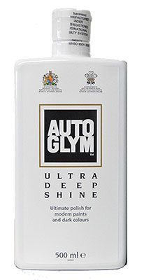 AutoGlym Ultra Deep Shine 500ml with Free Professional Edgeless Microfiber & Applicator