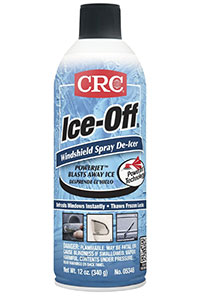 CRC 05346 Ice-Off Windshield Spray De-Icer – 12 Wt Oz.