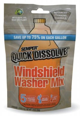 Caf Sqd5 Quick Dissolve Windshield Washer Mix