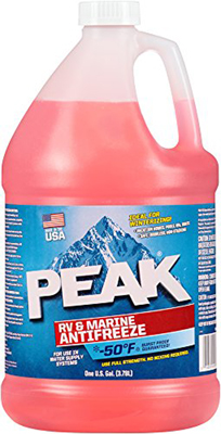 PEAK PER0A3 RV and Marine Antifreeze - 1 Gallon