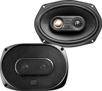 "Polk Audio DXi691 (6""x9"" 3-way car speakers)"