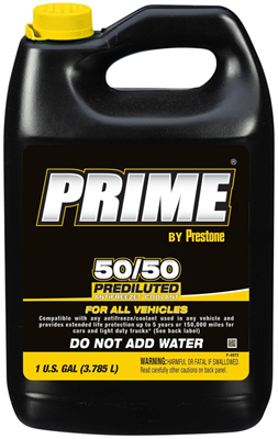 Prestone AF3100 Prime All Vehicle 50/50 Antifreeze