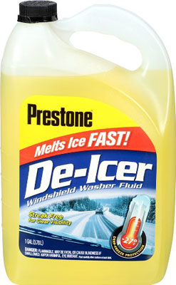 Prestone AS250 De Icer Windshield Washer Fluid