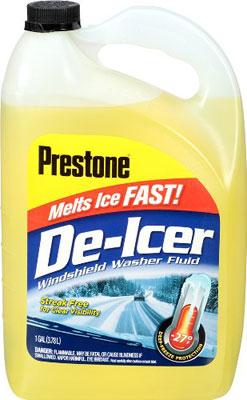 Prestone AS250 De Icer Windshield Washer Fluid